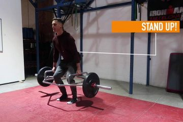 hex bar deadlift for runners