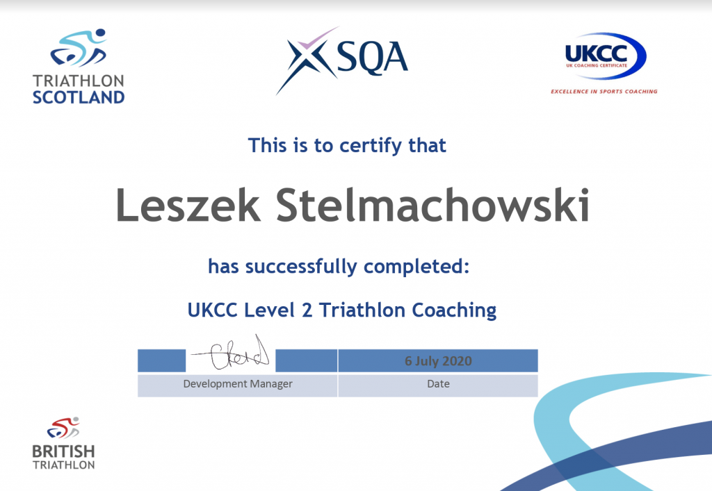 triathlon coaching level 2